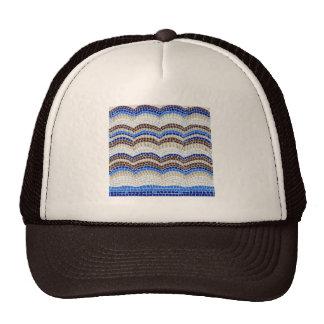 Blue Mosaic Trucker Hat