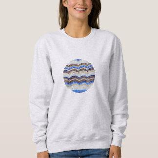 Blue Mosaic Women's Basic Sweatshirt
