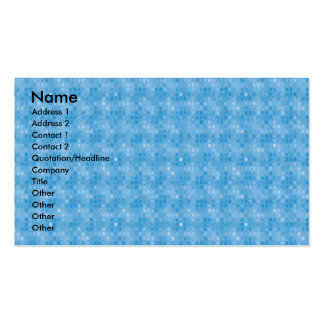 Blue Mosaics Pack Of Standard Business Cards