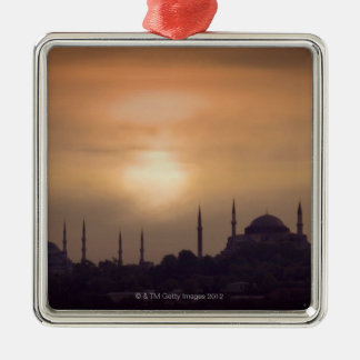 Blue Mosque and Hagia Sophia Turkey, Istanbul Christmas Ornament