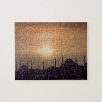 Blue Mosque and Hagia Sophia Turkey, Istanbul Jigsaw Puzzle
