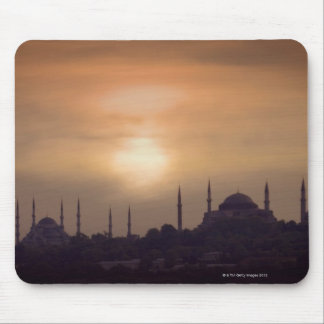 Blue Mosque and Hagia Sophia Turkey, Istanbul Mouse Mat