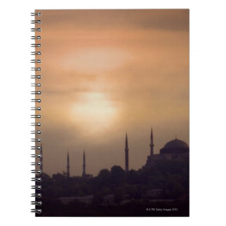 Blue Mosque and Hagia Sophia Turkey, Istanbul Notebook