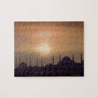 Blue Mosque and Hagia Sophia Turkey, Istanbul Puzzle