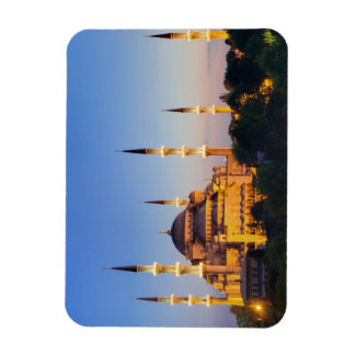 Blue Mosque at twilight Magnet
