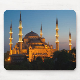 Blue Mosque at twilight Mousepad