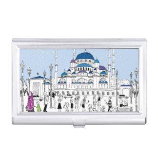 Blue Mosque Business Card Holder