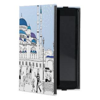 Blue Mosque Case For iPad Mini