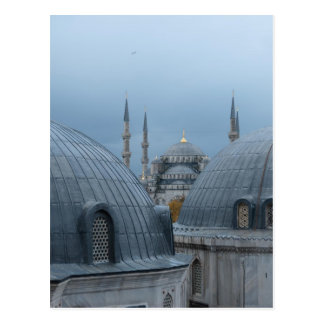 Blue Mosque in Istanbul Postcard