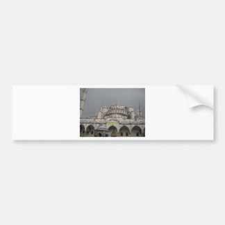 Blue Mosque in Istanbul, Turkey Bumper Sticker