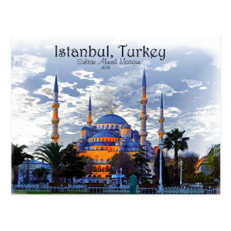 Blue Mosque- Istanbul Postcard