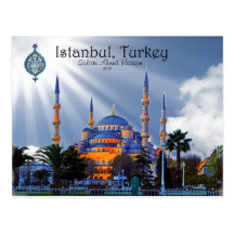 Blue Mosque- Istanbul Postcards