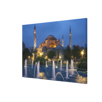 Blue mosque, Istanbul, Turkey Canvas Print
