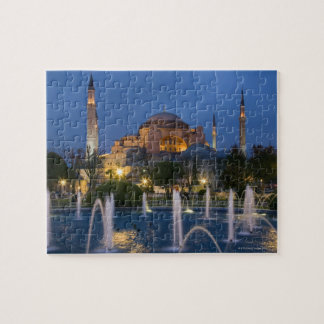 Blue mosque, Istanbul, Turkey Jigsaw Puzzle