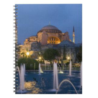 Blue mosque, Istanbul, Turkey Notebook