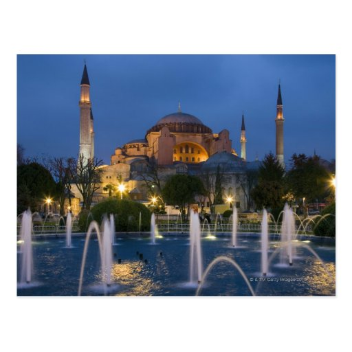 Blue mosque, Istanbul, Turkey Postcards