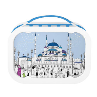 Blue Mosque Lunch Box