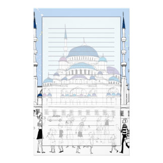 Blue Mosque Stationery