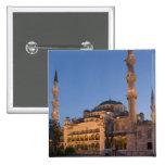 Blue Mosque, Sultanhamet Area, Istanbul, Turkey 2 15 Cm Square Badge