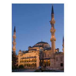 Blue Mosque, Sultanhamet Area, Istanbul, Turkey 2 Postcard