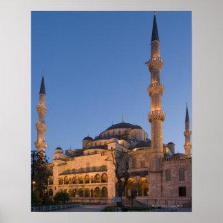 Blue Mosque, Sultanhamet Area, Istanbul, Turkey 2 Poster