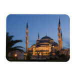 Blue Mosque, Sultanhamet Area, Istanbul, Turkey Rectangular Photo Magnet