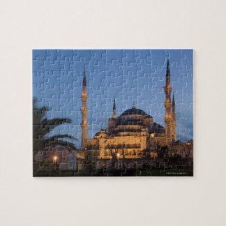 Blue Mosque, Sultanhamet Area, Istanbul, Turkey Jigsaw Puzzle