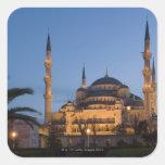 Blue Mosque, Sultanhamet Area, Istanbul, Turkey Square Sticker