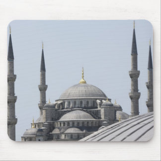 Blue Mosque with the curve of the main dome Mouse Mat