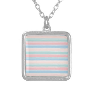 Blue Motion by Shirt to Design Silver Plated Necklace