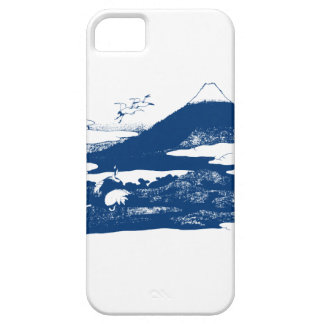 Blue Mount Fuji Case For The iPhone 5