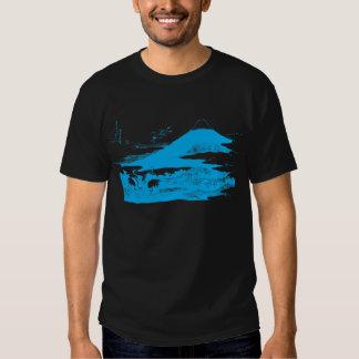 Blue Mount Fuji Dark Apparel Shirt