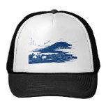 Blue Mount Fuji Hat