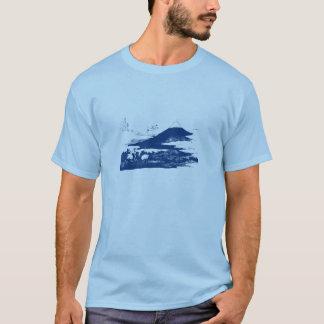 Blue Mount Fuji Shirt