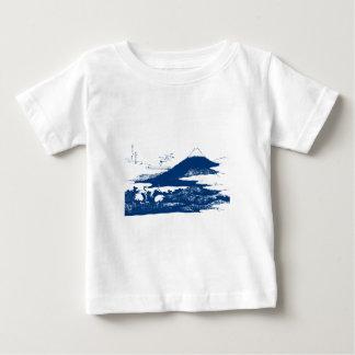 Blue Mount Fuji T-shirts