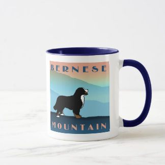 Blue Mountain Bernese Dog Mug