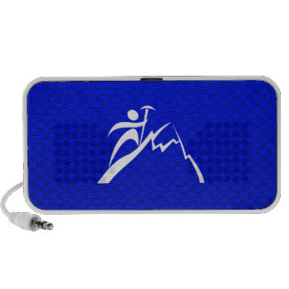 Blue Mountain Climbing Laptop Speaker