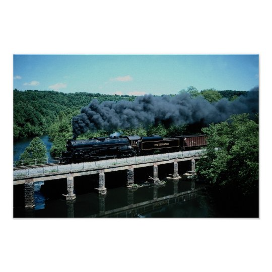 Blue Mountain & Reading, 4-8-4 Poster
