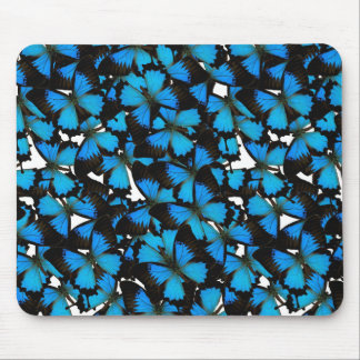Blue Mountain Swallowtail Mouse Mat