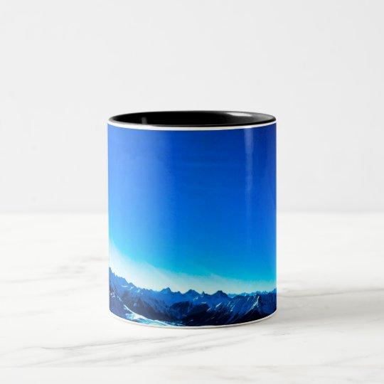 Blue Mountain Two-Tone Coffee Mug