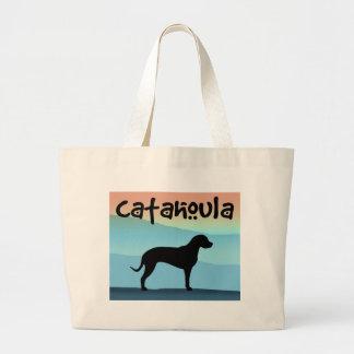 Blue Mountains Catahoula Large Tote Bag