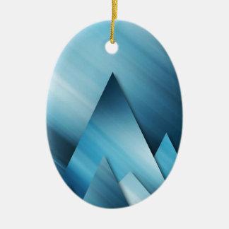 Blue Mountains.jpg Ceramic Oval Decoration