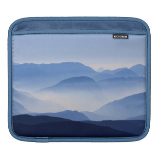 Blue Mountains Meditative Relaxing Landscape Scene Sleeves For iPads