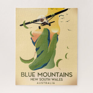 Blue Mountains New South Wales Australia Jigsaw Puzzle