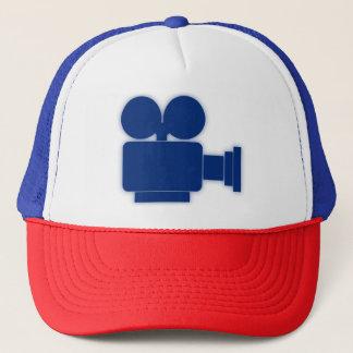 BLUE MOVIE CAMERA Trucker Hat