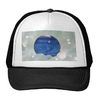 Blue Multi Sea Glass Mesh Hats