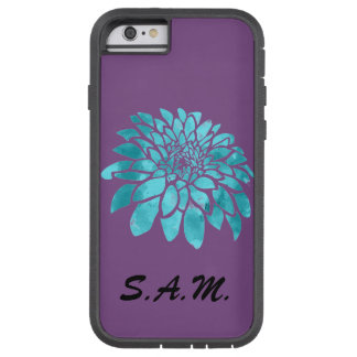 Blue Mum on Purple Tough Xtreme iPhone 6 Case