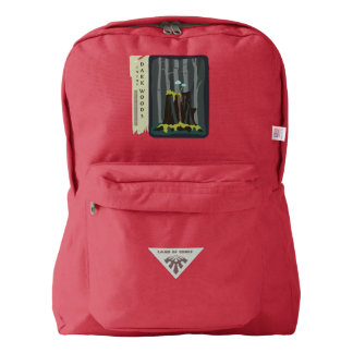 'Blue Mushrooms' Backpack