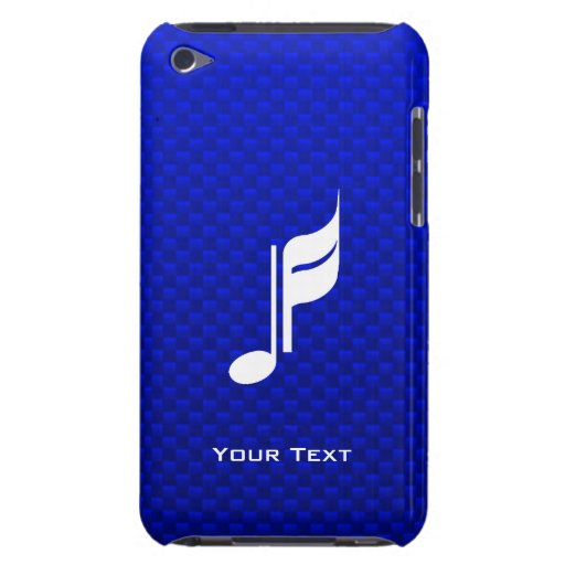 Blue Music Note iPod Touch Case