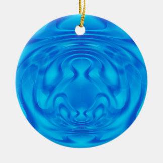 Blue Mystery Christmas Ornament